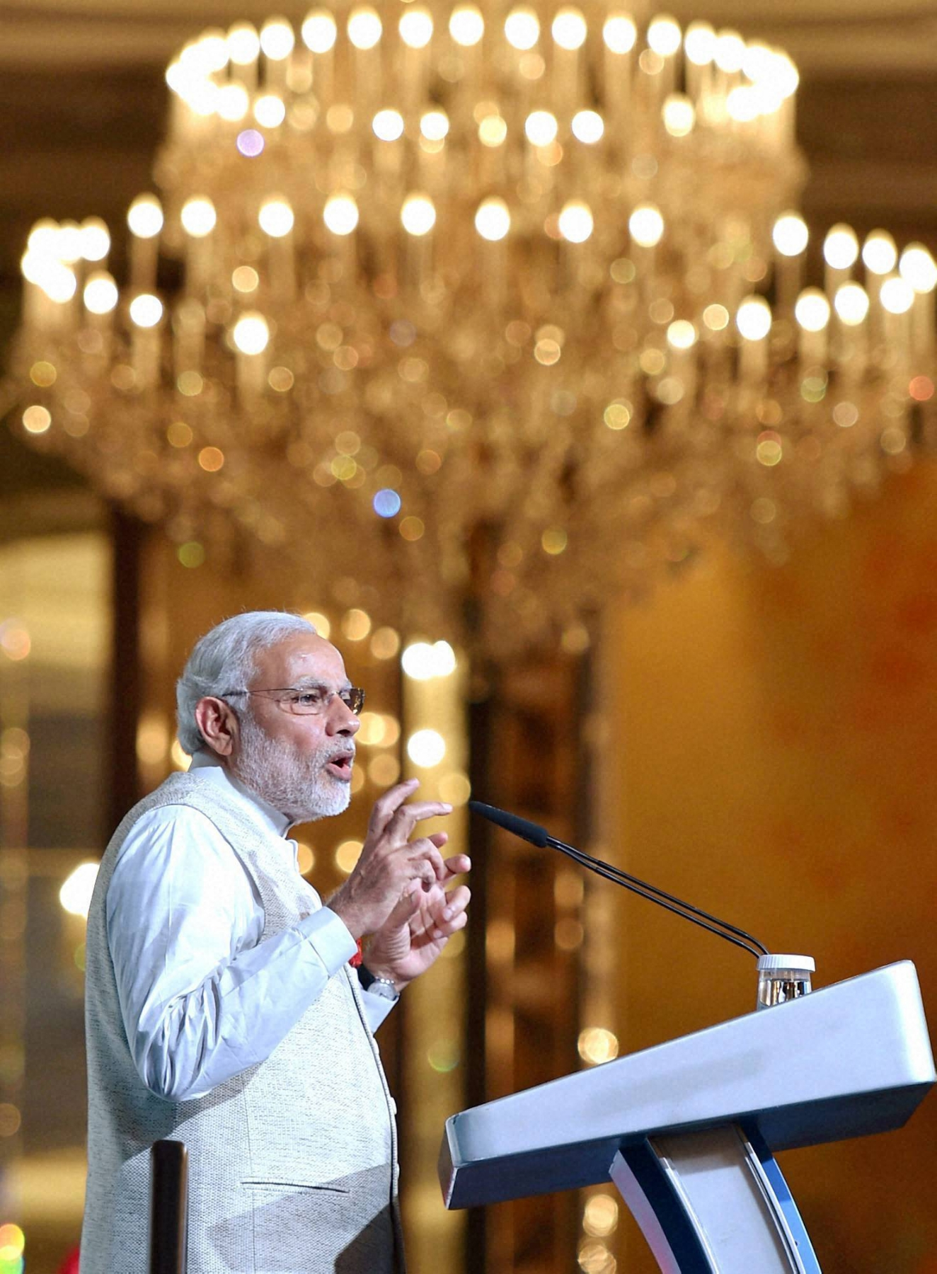 Oceans, space should not become war zones: Modi