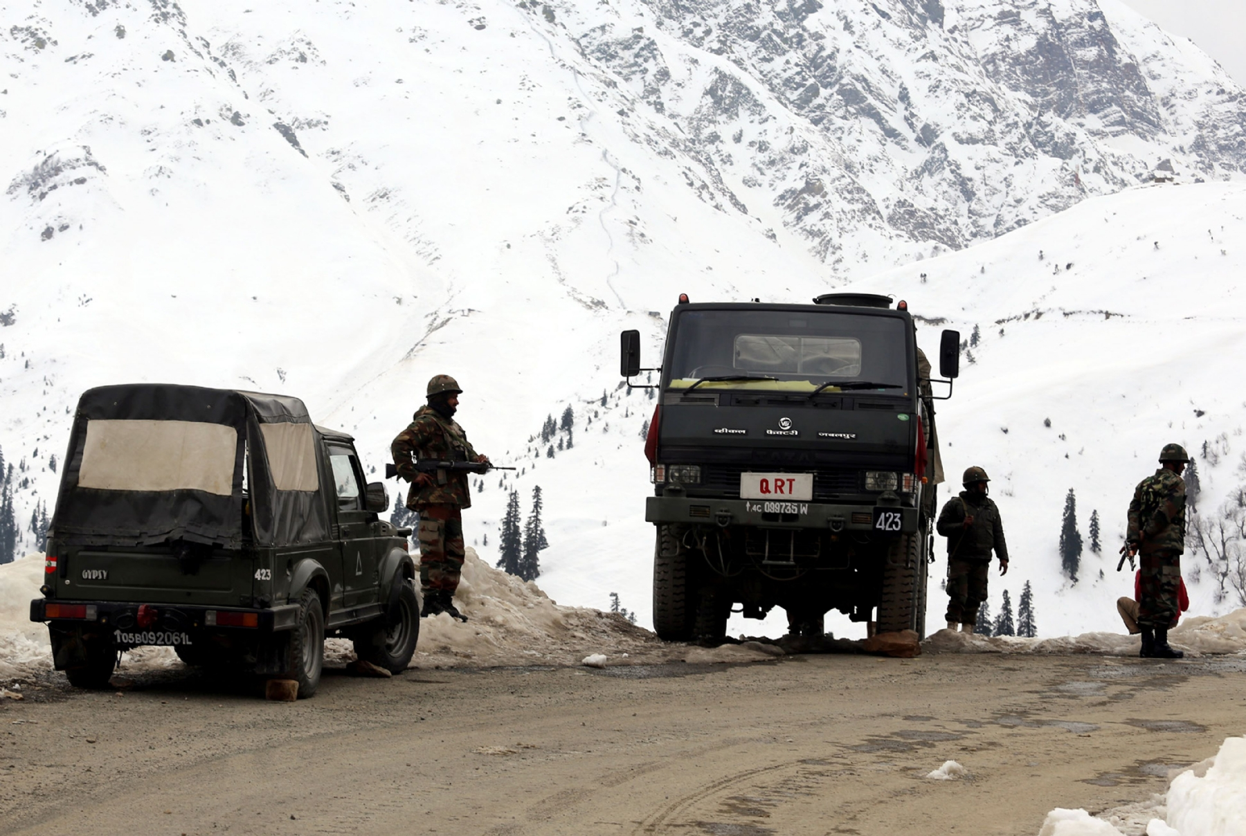 Three heavily-armed militants storm Army camp in J&K, killed