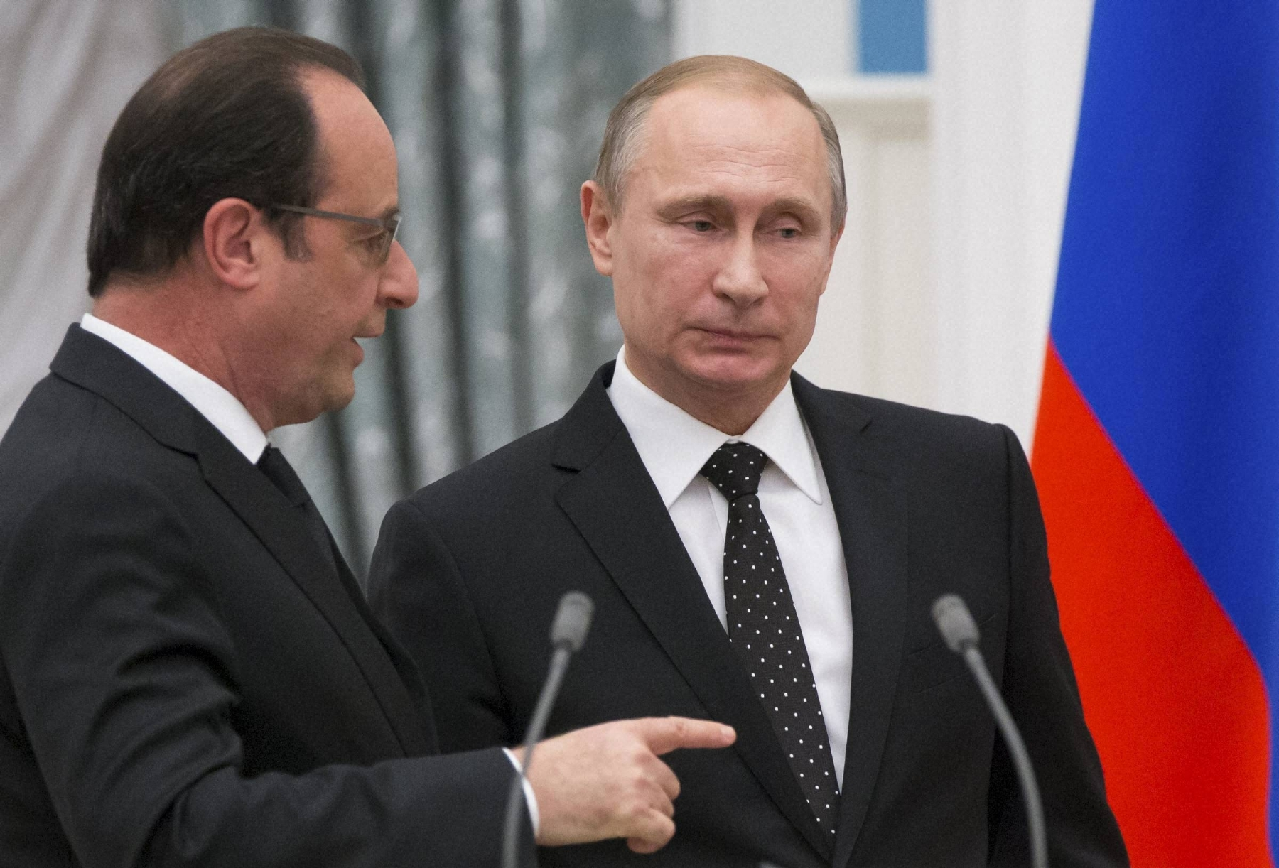 France, Russia to cooperate in fight against Islamic State