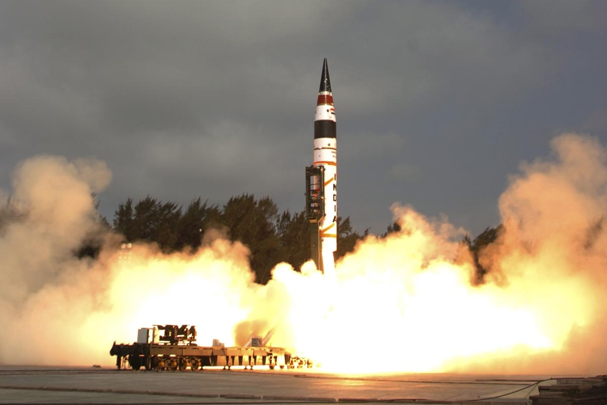 N-capable Agni-I missile test-fired successfully
