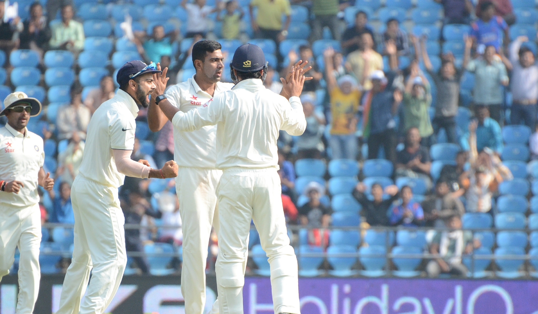 India spin their way to glory
