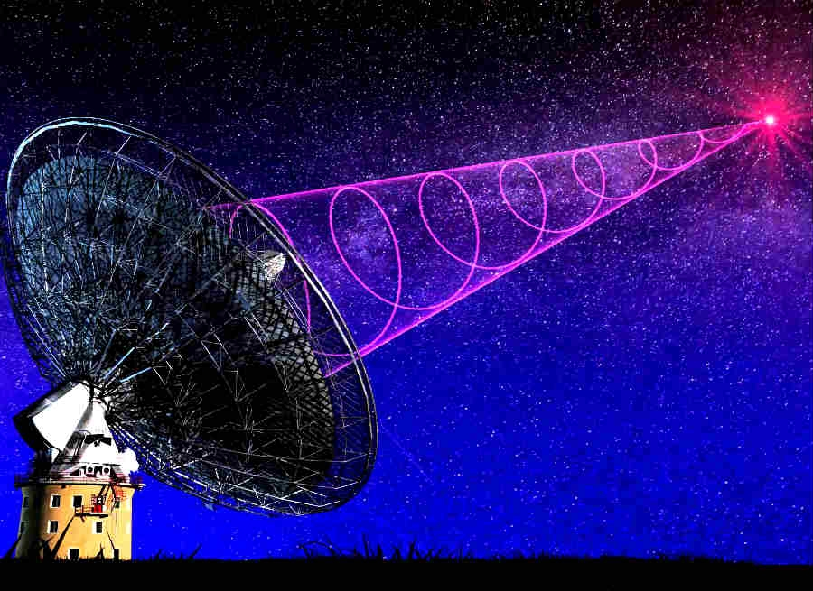 Mysterious radio pulses from outer space detected