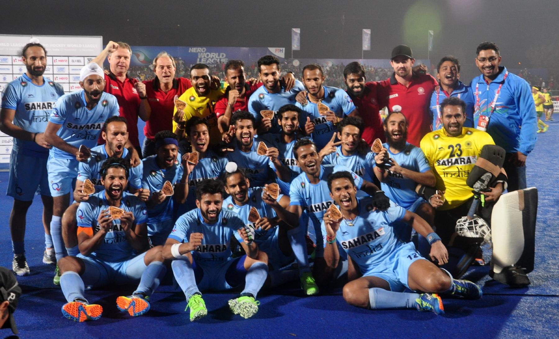India beat Dutch for bronze