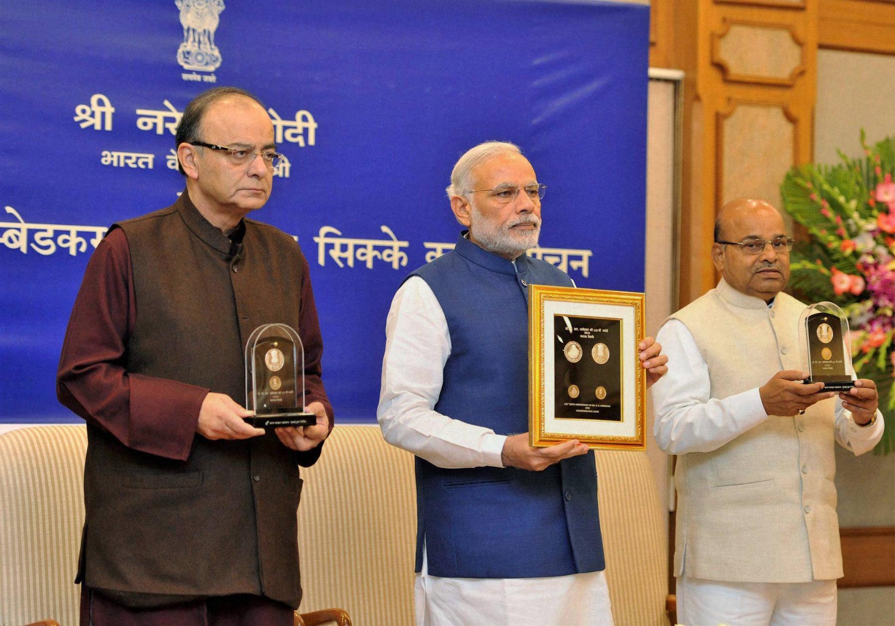 Modi vows to fulfil Ambedkar's vision of inclusive India