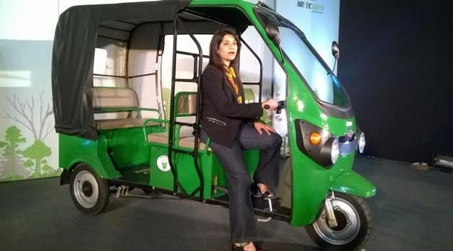 Kinetic launches electric 3-wheeler 'Safar'