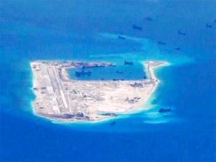 China flies two commercial jets to man-made island in South China Sea