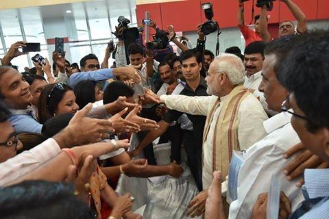 PM Modi at Vadodara