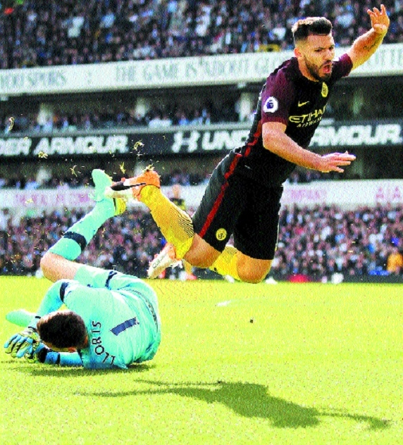 Tottenham hand Guardiola first defeat as City manager