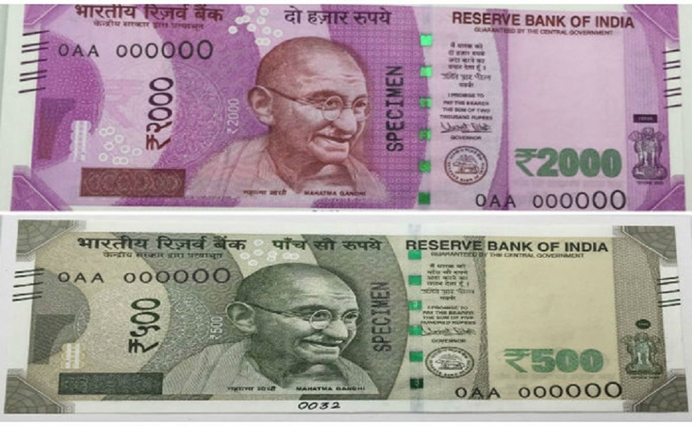 For Rs 500 note, RBI pays Rs 3.09; for Rs 2,000 note it pays Rs 3.54