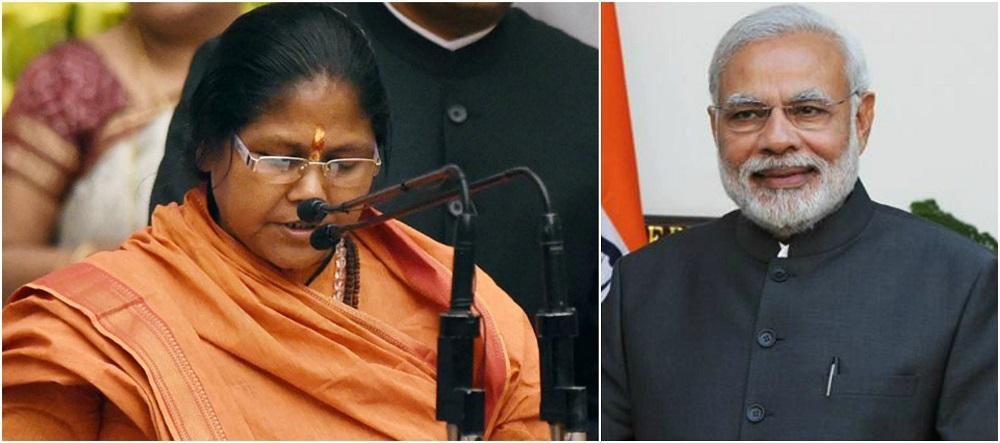 Modi preserved the very existence of women, says Sadhavi Jyoti