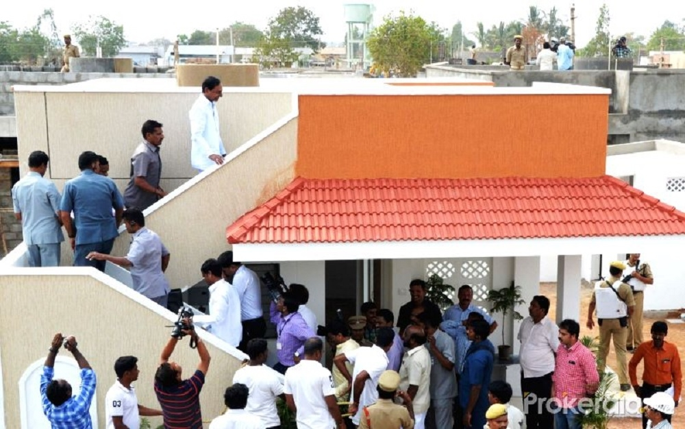 KCR transforms two villages with housing scheme