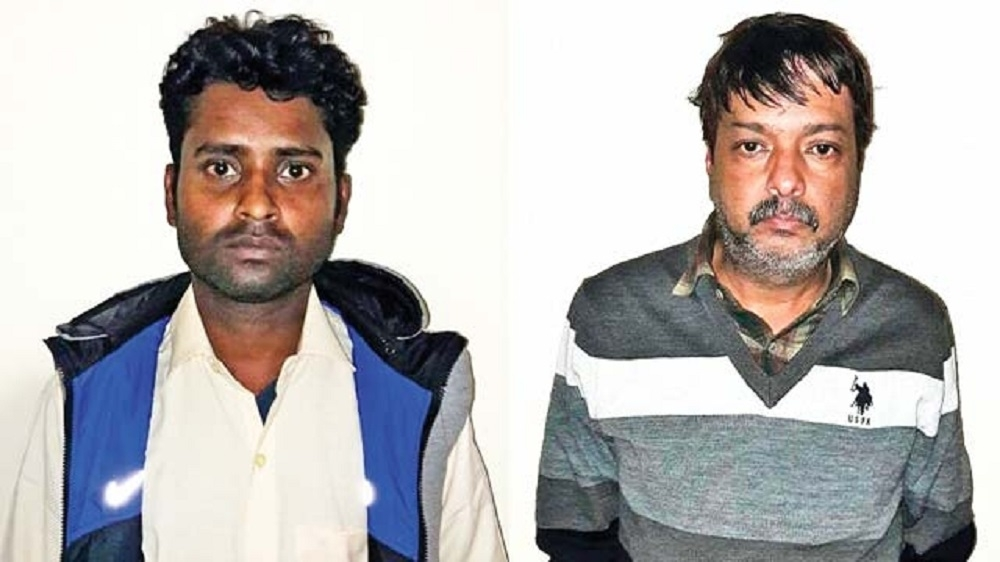 Two arrested for depositing Rs 34 cr in fake accounts