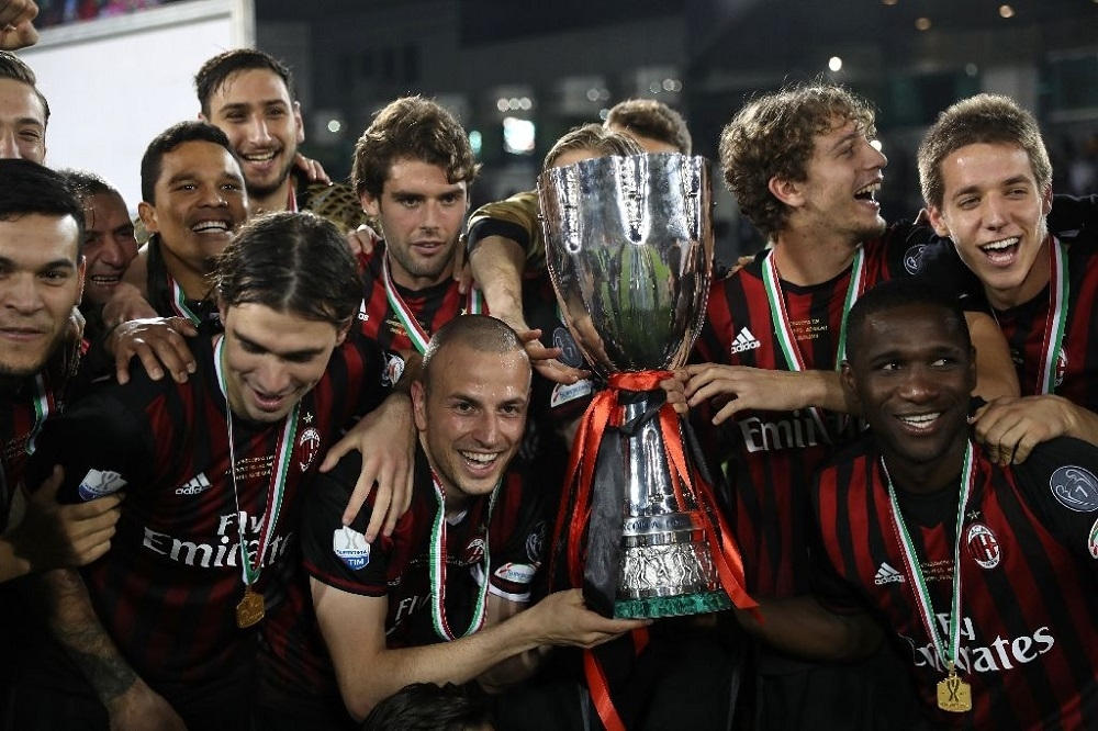 AC Milan edge past Juventus to wrest Italy's Super Cup