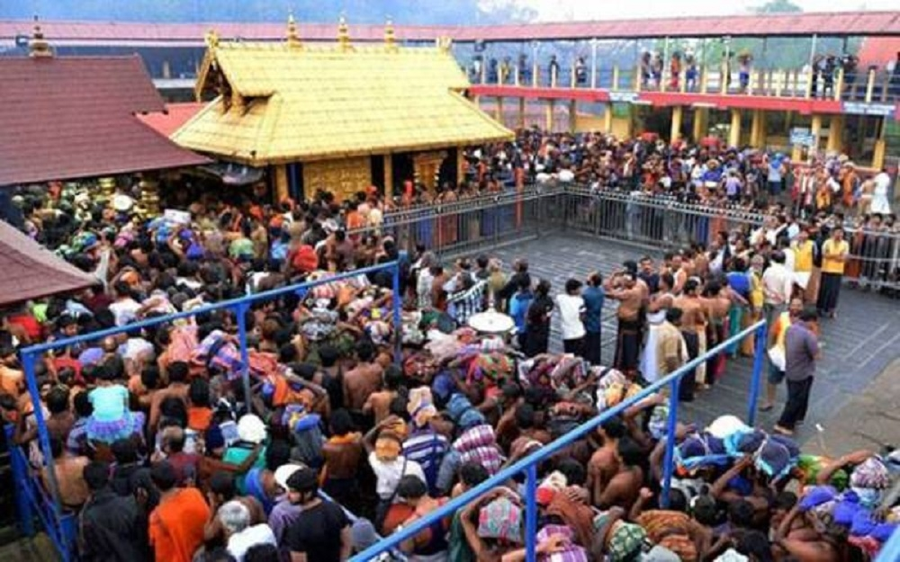 Over 17 pilgrims hurt in Sabarimala stampede
