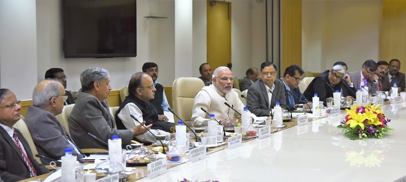 Modi calls for innovative ways to budget-making