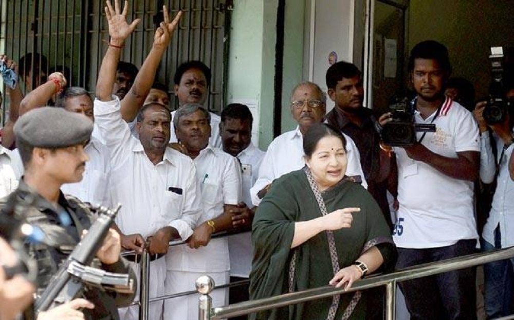 Jaya, main pillar of TN politics