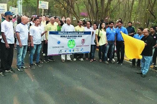 NAO holds 'Glaucoma walk'