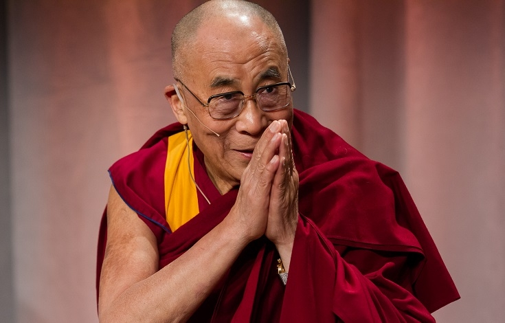 Dalai Lama's lecture on art of living happily at Vidhan Sabha on Sunday