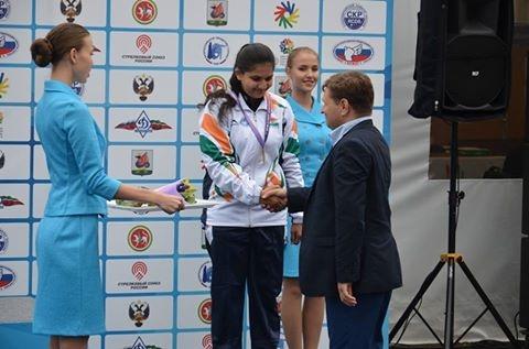 Priyesha Deshmukh wins bronze in World Deaf Championship Shooting Kazan Russia