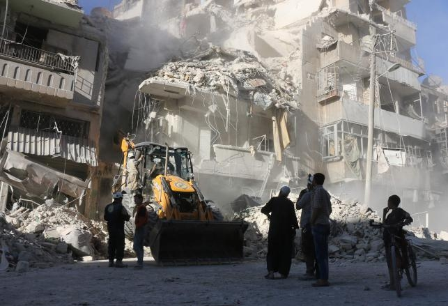 Syria's Aleppo reels under airstrikes, 45 civilian killed; UN chief 'appalled'