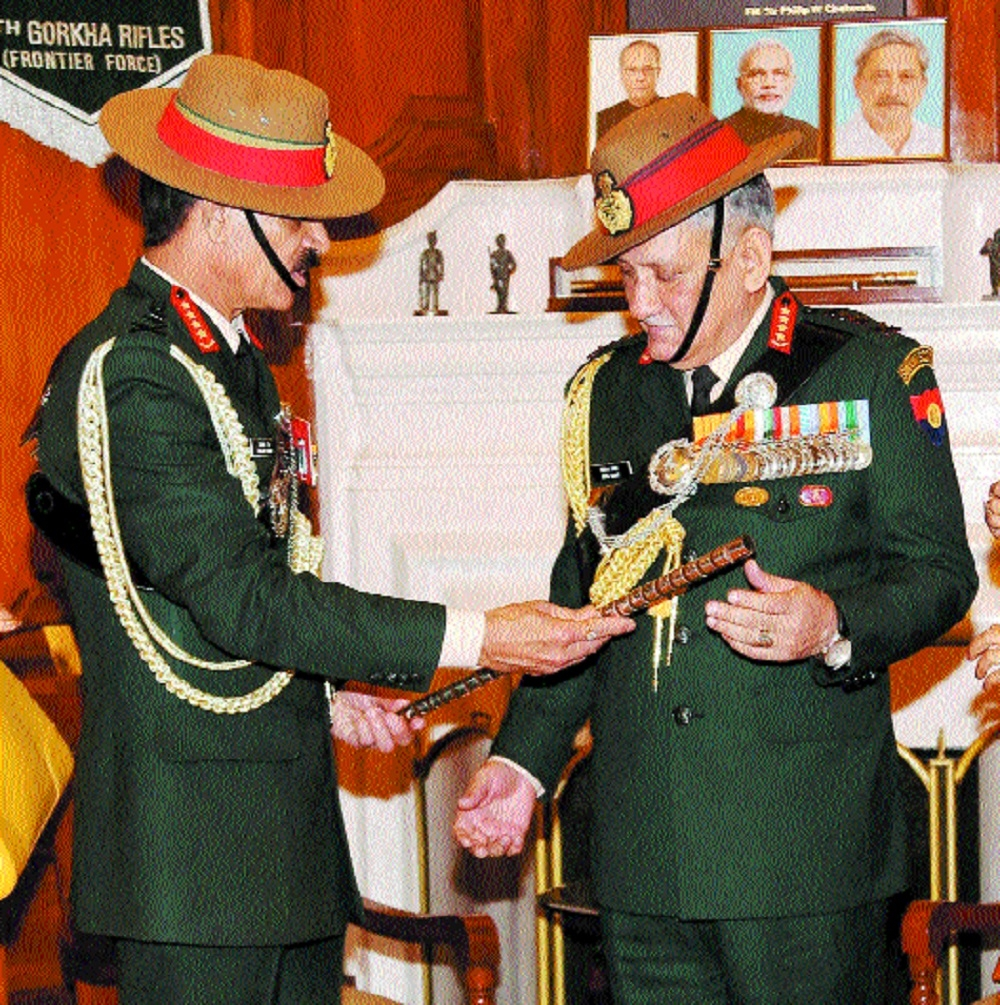 New Army, IAF Chiefs take charge