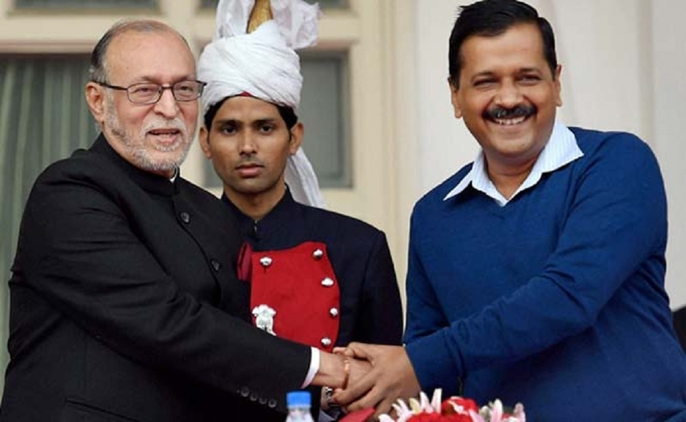 Baijal takes oath as Delhi Lt Governor