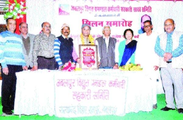 Rajesh Pathak Praveen felicitated