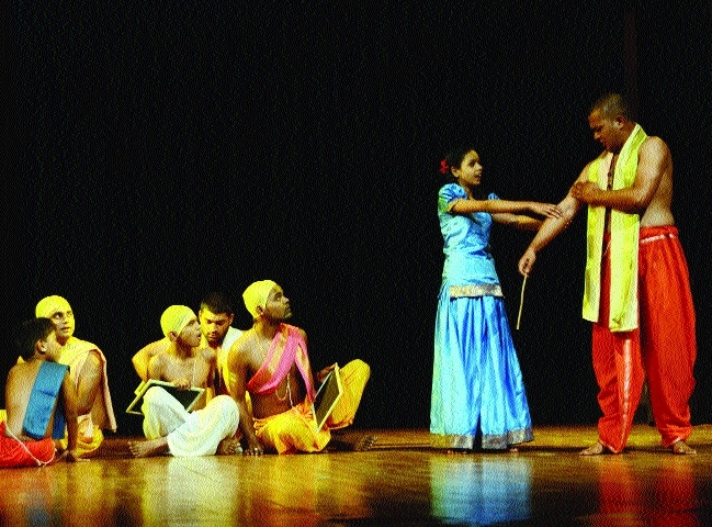 Play 'Savitri' staged at Shaheed Bhawan