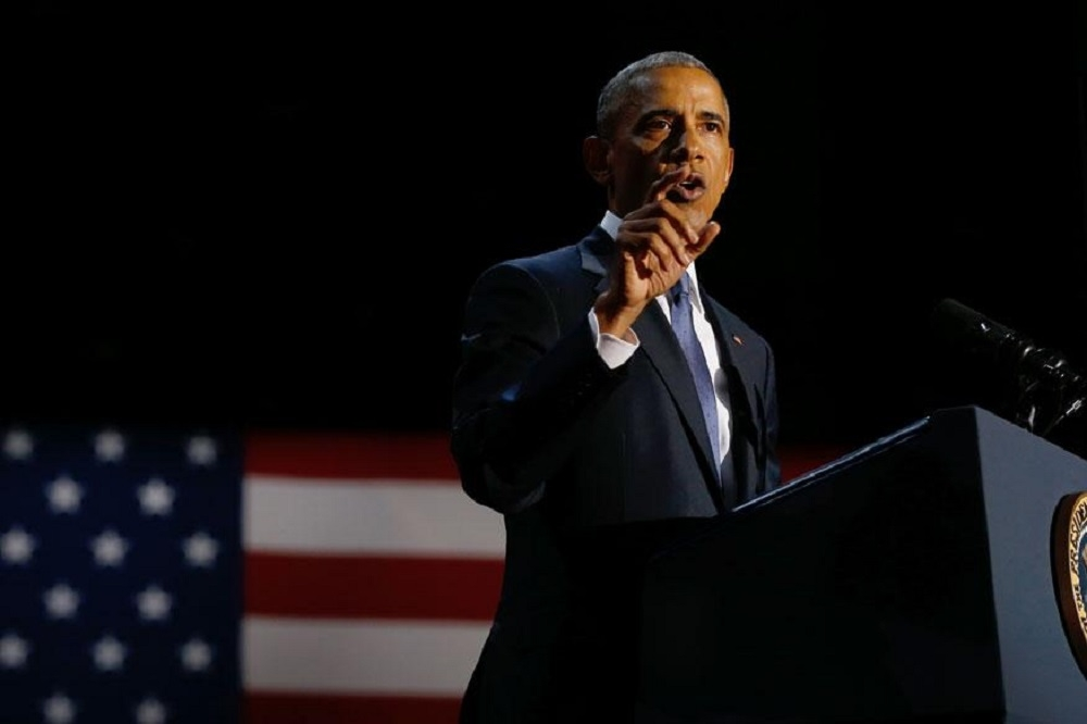 Stay committed to democratic values: Obama to Americans in farewell speech