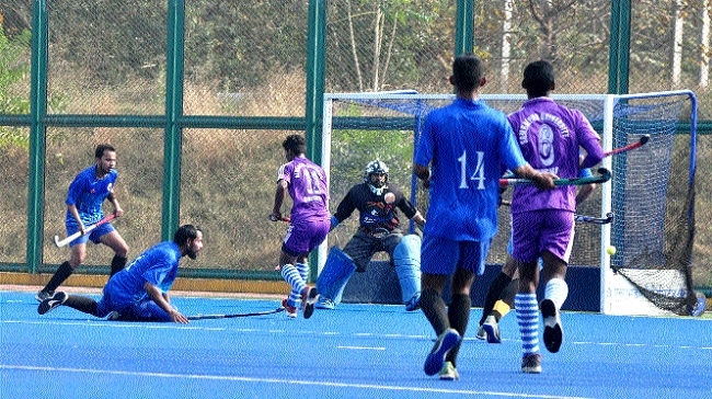 PRSU qualifies for All India Inter University Hockey Tournament