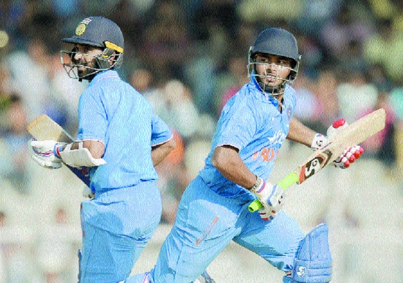 Pant sizzles, Rahane solid as India A beat England