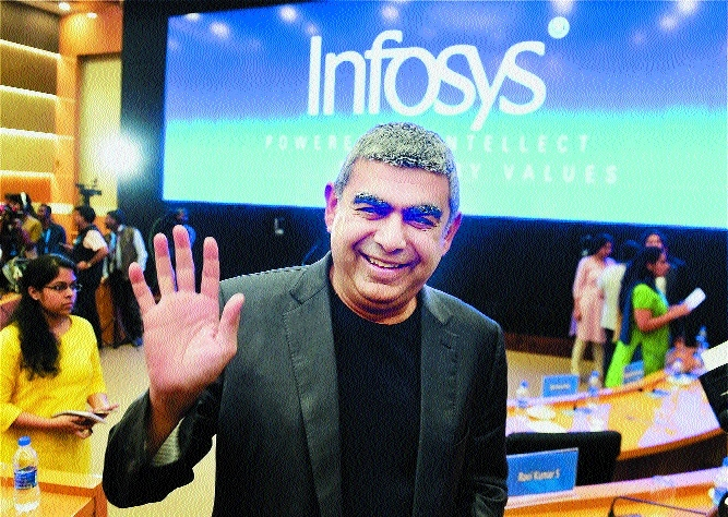 Infosys Q3 net up 7% at Rs 3,708 cr