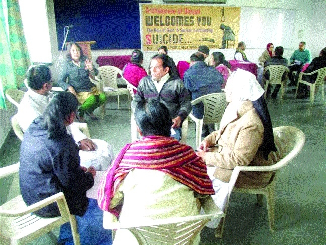 Workshop on intervene suicidal tendencies held