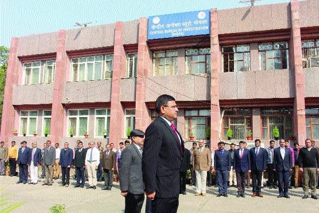 CBI Director visits Bhopal