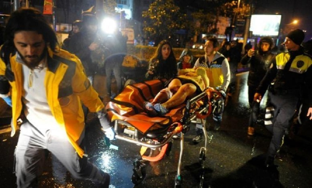 39 killed as gunman opens fire in Istanbul nightclub