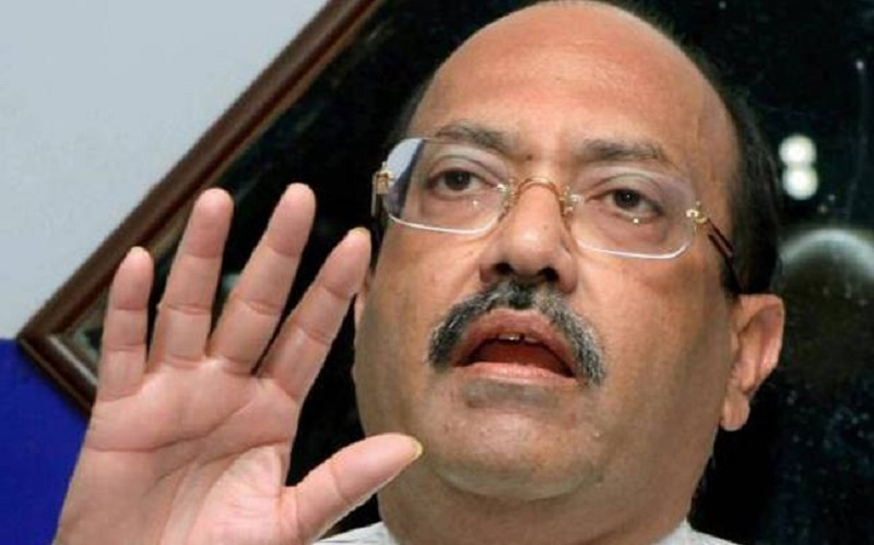 Amar Singh blames Cong-SP tie-up for BJP's good show