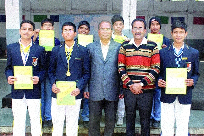 Seven Campion students qualify for National Level Olympiad