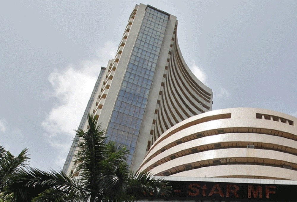 Sensex rebounds on positive infra data; GST meet in focus