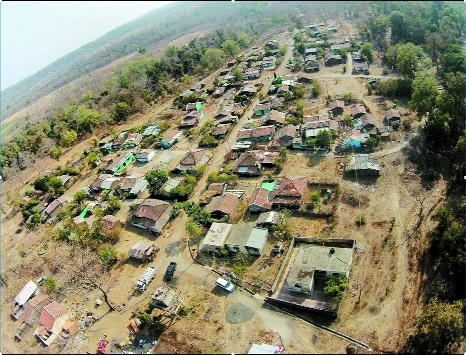 Shifting of Navargaon village in Bor Tiger Reserve begins