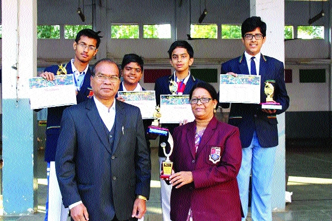 Campion School students stand runners-up in Intercity Maths Quiz