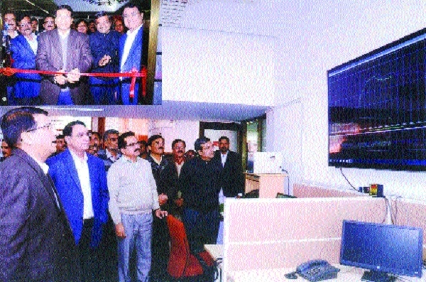 Newly-established control room opened at Shakti Bhawan
