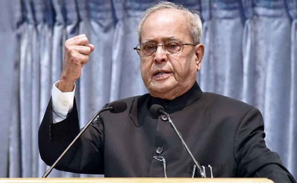 Poor need succour 'here and now', says Pranab