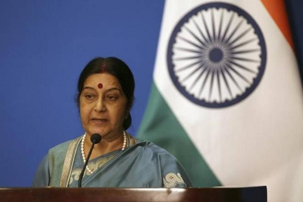 Sushma seeks report from Envoy in Qatar on 2 Indians on death row