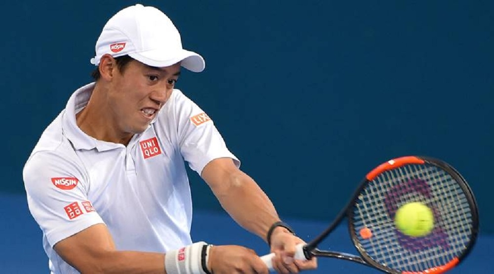 Nishikori sets sights on Slam