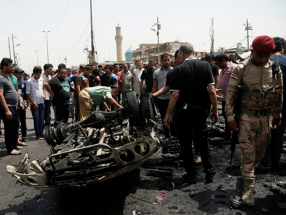 11 killed in attack on Baghdad market