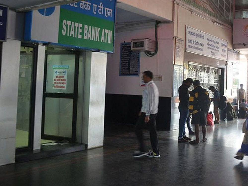 Railways offer platforms for setting up over 2,000 ATMs