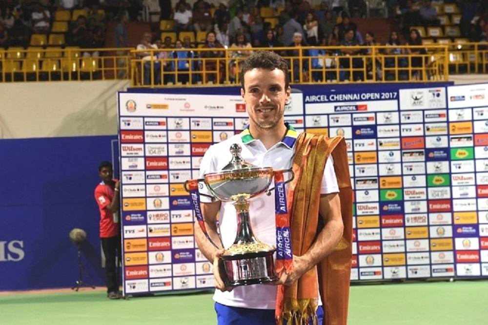 Agut lift Chennai Open title