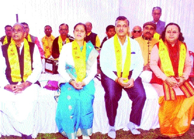 Religious rituals of 251 married couples performed, Sundarkand Path organised
