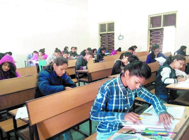 NID DAT exam 2017 held in city