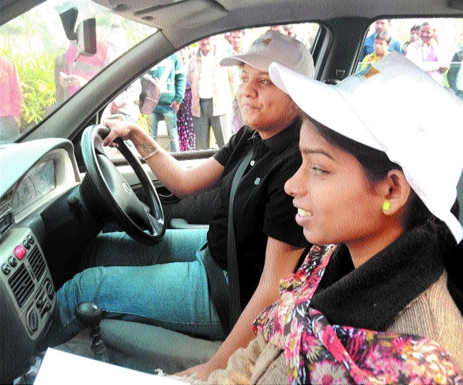 Blind navigators come out in flying colours in car rally